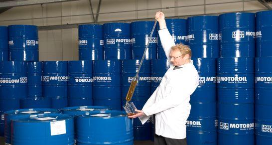 Geprüfte Qualität 'Made in Germany' von LIQUI MOLY ist weltweit sehr gefragt. Der Exportanteil des Umsatzes stieg im vergangenen Jahr um zehn Prozent.