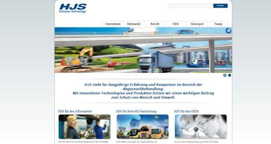 website mit allen Geschäftsbereiche u.a. aftermarket
