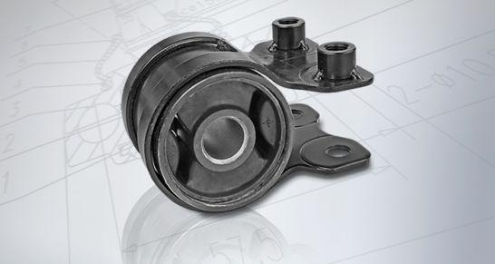 Meyle-HD-Vollgummilager in der Querlenkerlagerung lässt Mazda länger fahren Neues Meyle-HD-Teil für Mazda-Serien 3 und 5 erhöht Lebensdauer ohne Einbußen am Fahrkomfort.