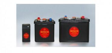 Bosch Automotive Tradition fertigt historische Starterbatterie im schwarzen Original-Design nach