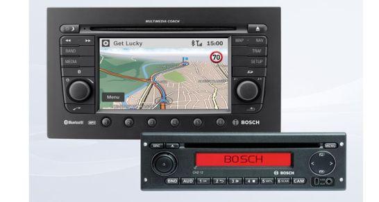 Bosch infotainment