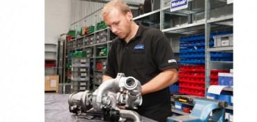 Motair Turbolader Montage