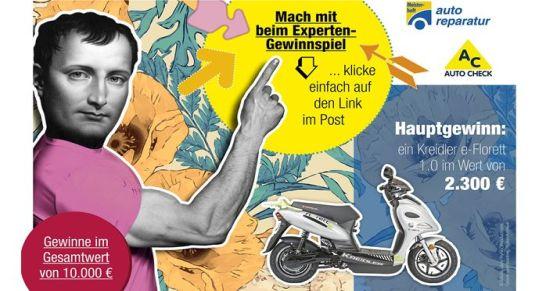 ATR Autochek und Meisterhaft Autoreparatur Facebook Gewinnspiel