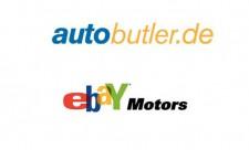 Autobutler und Ebay Motors Logo