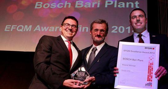 EFQM Excellence Award 2014 für Bosch Gruppe