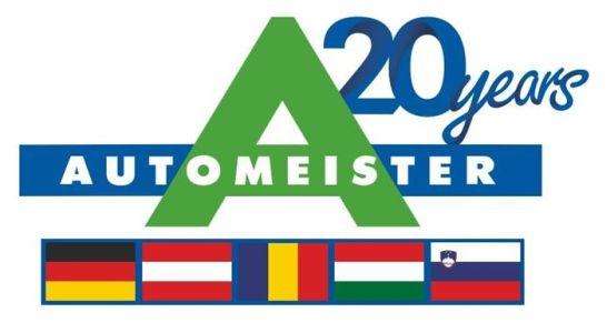 Automeister Logo 20 Jahre