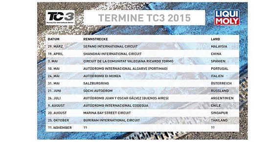 liqui moly moto tc3 termine für das Jahr 2015