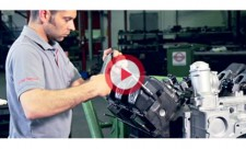 Zylinderkopfdichtung Montage Mercedes OM 501