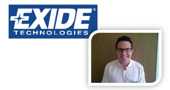 Exide Area Sales Manager Nils Schoenenwolf