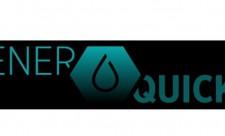 Enerquick logo. Clever tanken mit Enerquick App