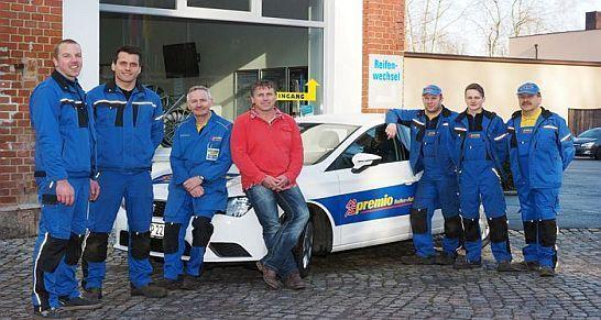 Autoservice von Premio. Reifenfachhandel und Fahrwerkstechnik Mike Pöschel