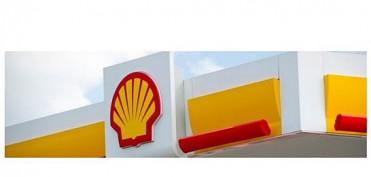 Shell Logo an Tankstelle