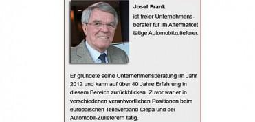 Josef Frank freier Unternehmensberater