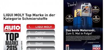 "LIQUI MOLY zur ""Top Marke"