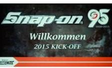 Snap-on 95 Jahre - Kick-off