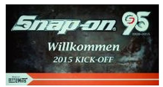 Snap-on 95 Jahre - Kick-off