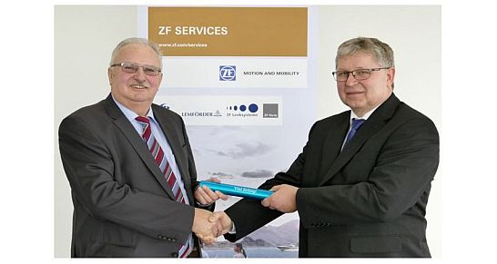 Helmut Ernst -Alois Ludwig ZF-Services