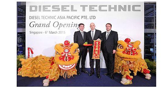 Diesel-Technic - Einweihung von Diesel Technic Asia Pacific Pte. Ltd. in Singapur