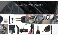 Reparatursatz mit Edelstahlklammern - KS-Tools