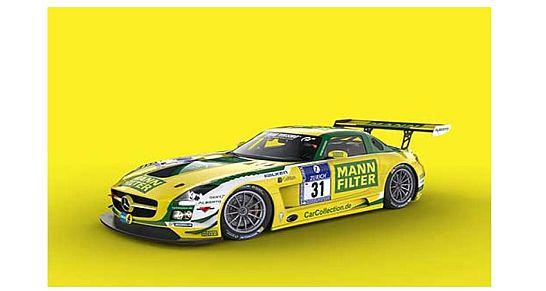 Mercedes-Benz SLS AMG GT3. 24-Stunden-Rennen auf dem Nürburgring
