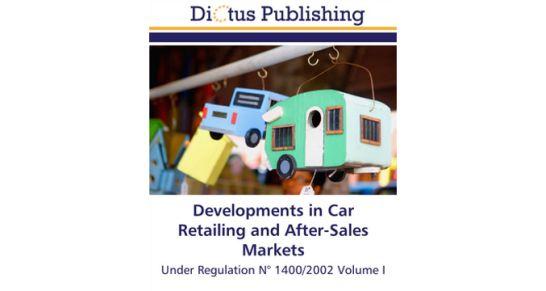 car retailing and after sales under regulation ber