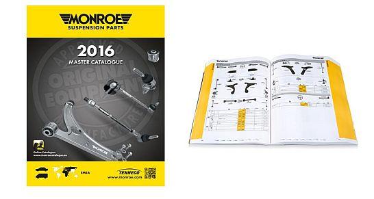 Monroe Master-Katalog - Tenneco -
