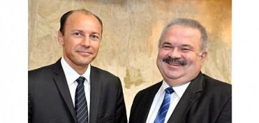 NTN-SNR - Christophe Idelon (Links), Bruno Gauthier (Rechts)