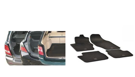 Fuß- und Kofferraummatten - Rameder