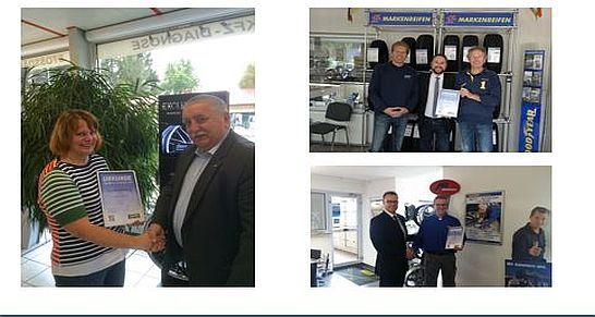 Premio Reifen Auszeichnungen