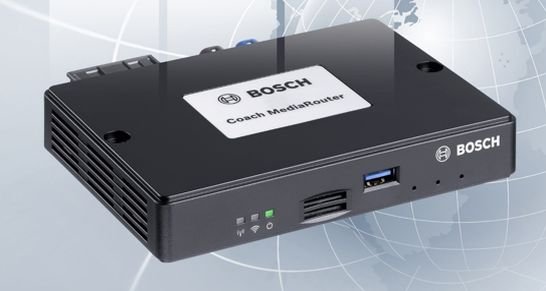 bosch coach media router