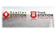 truck und trailer station logo