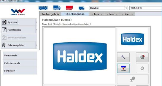 haldex diagnose