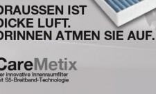 caremetix innenraumfilter von mahle aftermarket