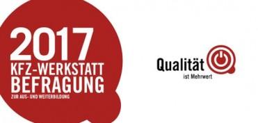 qualität ist mehr wert kfz-werkstattbefragung