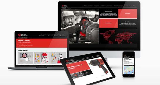 chicago pneumatic website