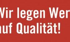 slogan Initiative Qualität ist Mehrwert