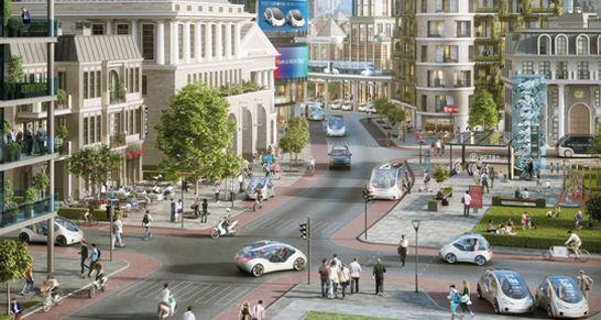 bosch urbane mobilität stadt der zukunft