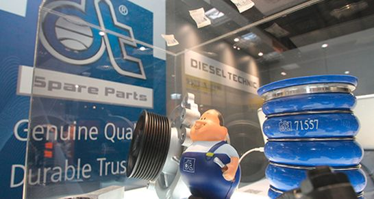 diesel technic-dt spare parts- wessels+müller-messe