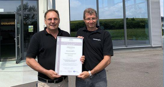 goldschmitt-zertifizierung