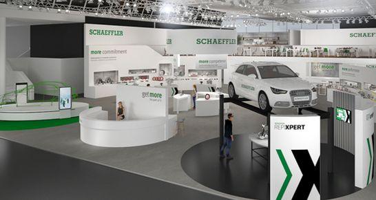 schaeffler-messestand-automechanika 2018