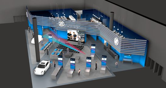 zf aftermarket-messestand-automechanika 2018