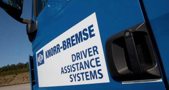 knorr-bremse-prototyp-fahrassistent, driver assistance system