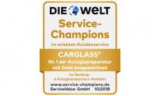 welt-carglass-service champion 2018