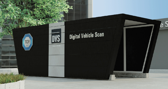 tüv süd-dvs-digital vehicle scan