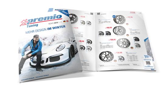 premio tuning-winter news-katalog 2019/20
